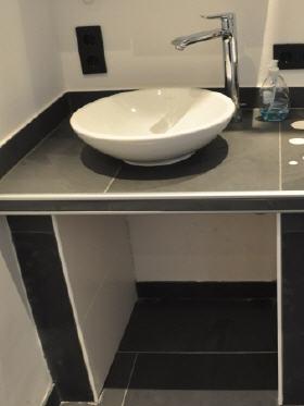 waschtisch mosaik unterkonstruktion waschtisch aus wedi bauplatten mosaik mosaik waschtisch im. Black Bedroom Furniture Sets. Home Design Ideas